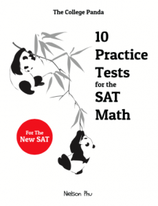 SAT Math Workbook Cover
